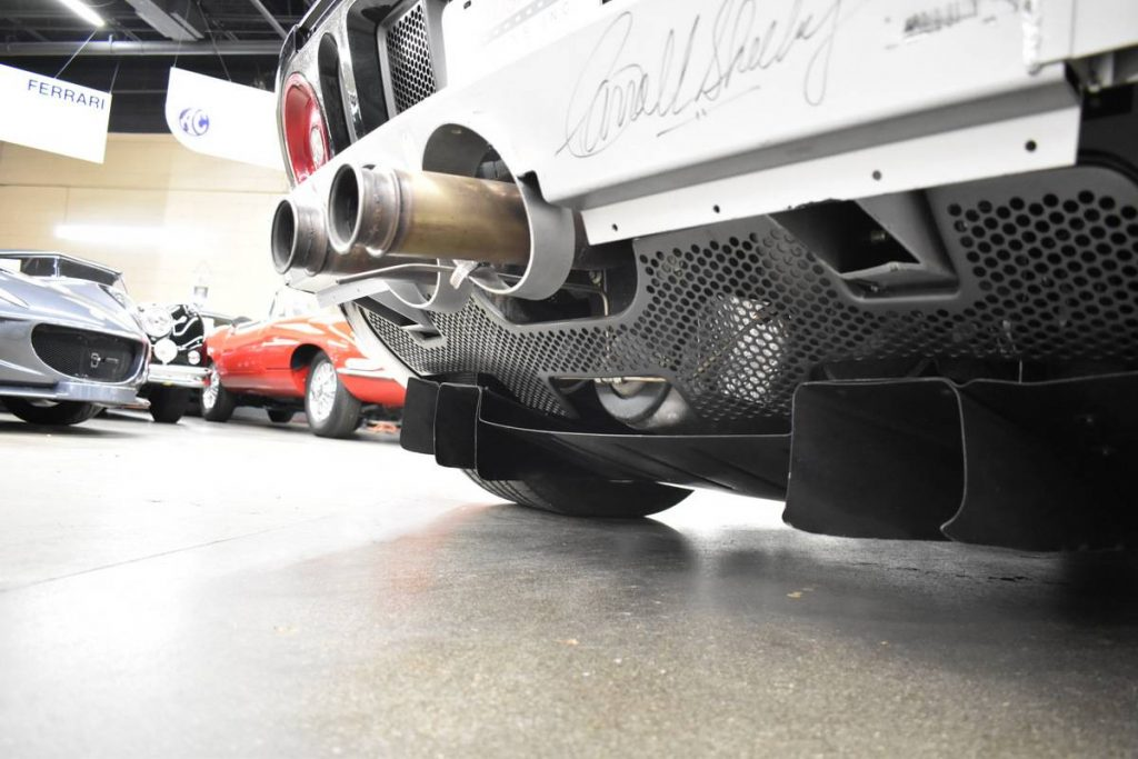 First running Ford GT prototype exhaust for testing
