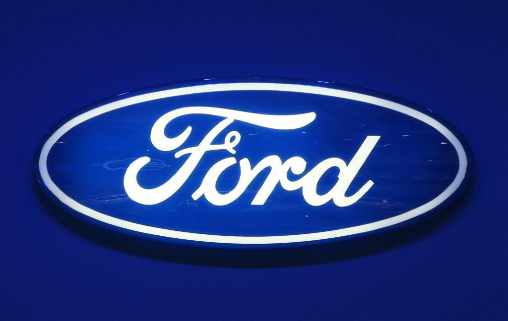 Blue oval Ford logo