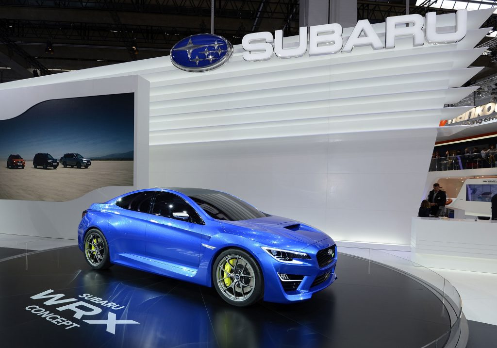 The WRX concept at its debut in 2020