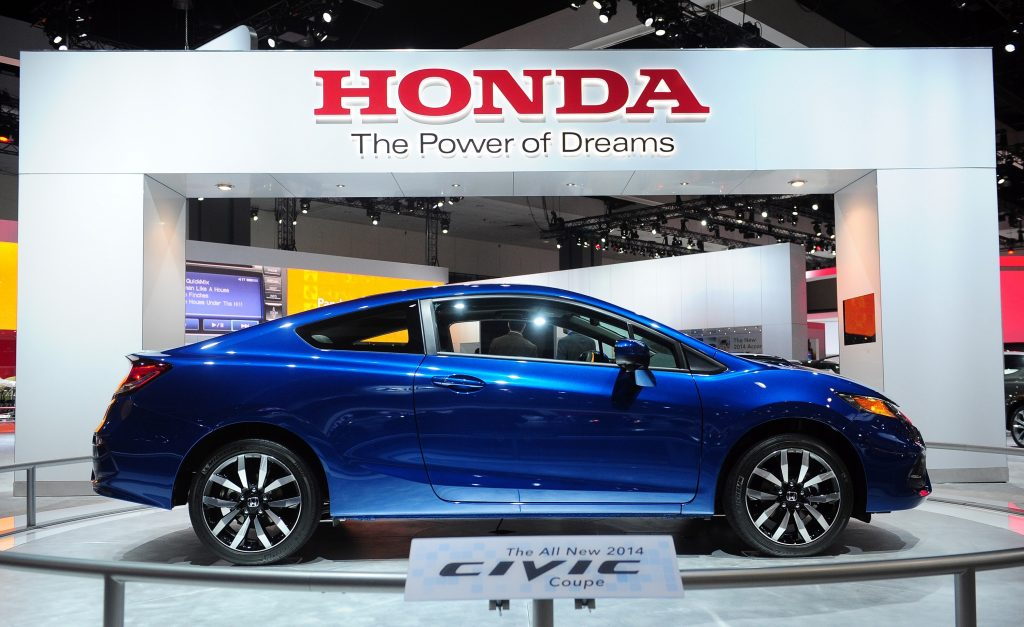 The debut of the new Civic back in 2013