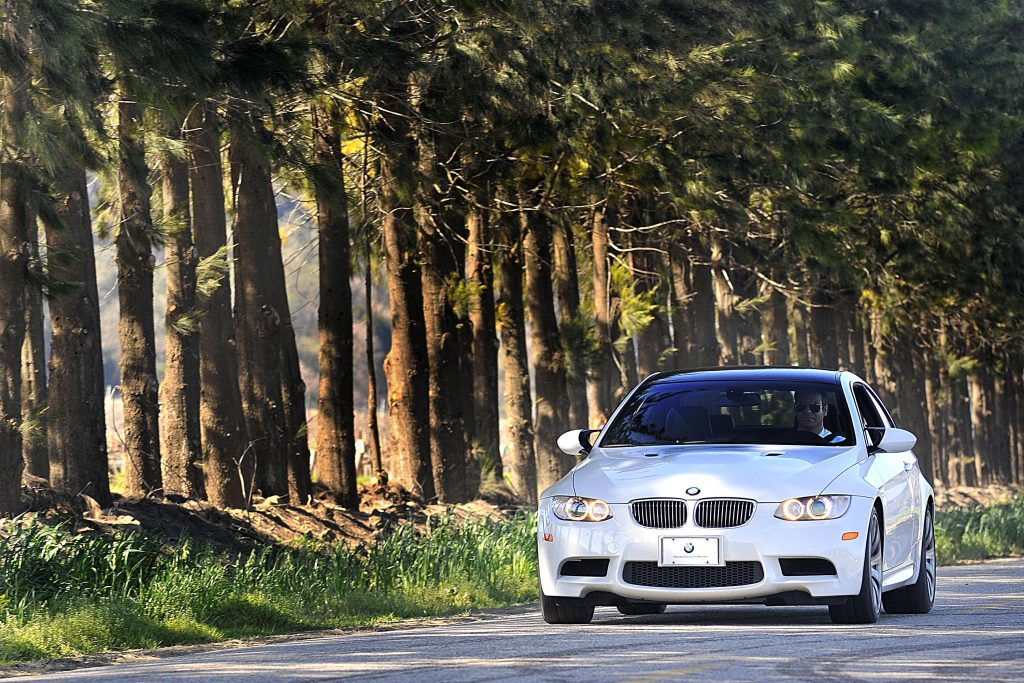 A white BMW M3 like this one is the best sports car under $25,000