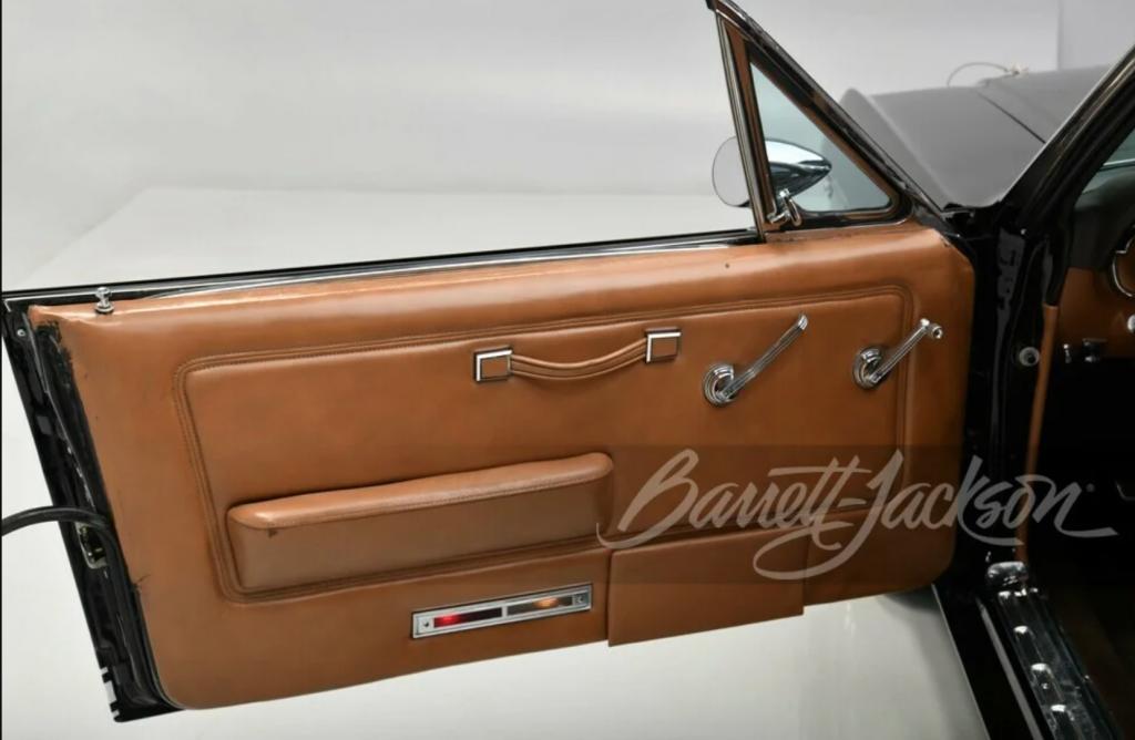 Henry Ford II 1966 Mustang GT convertible one-off door panel