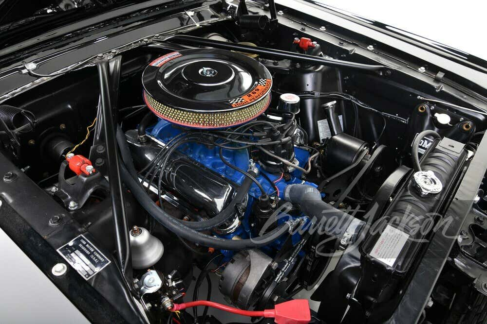 Henry Ford II 1966 Mustang GT convertible 289 V8 engine