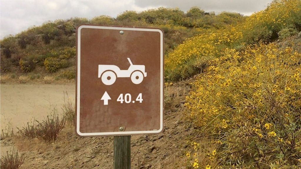 Jeep put a strange sign out to tease a new Jeep Wrangler or accessory