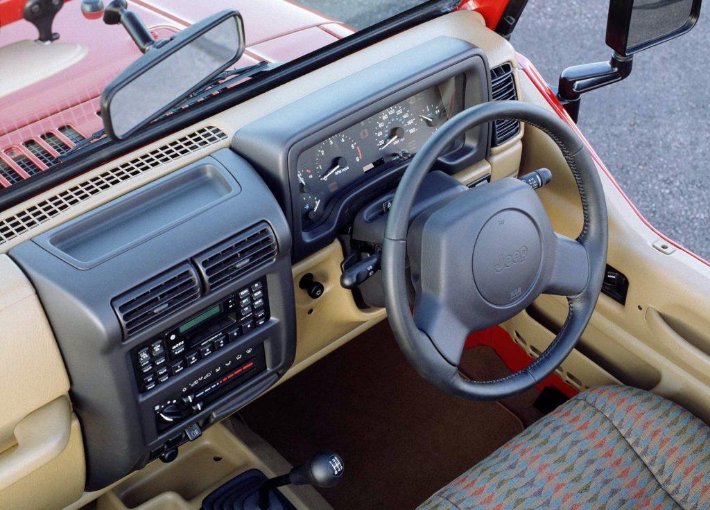 1997 Jeep Wrangler RHD-spec