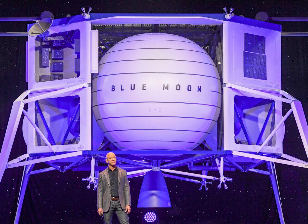 Jeff Bezos Spaceship Blue Moon