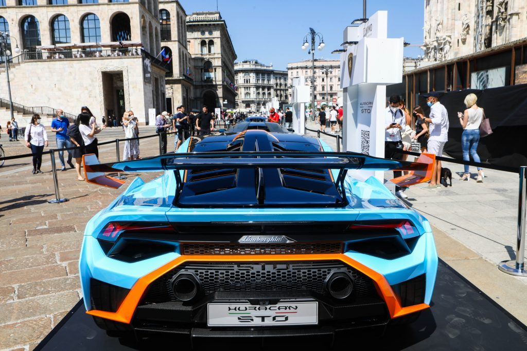 Lamborghini is almost sold out for 2021