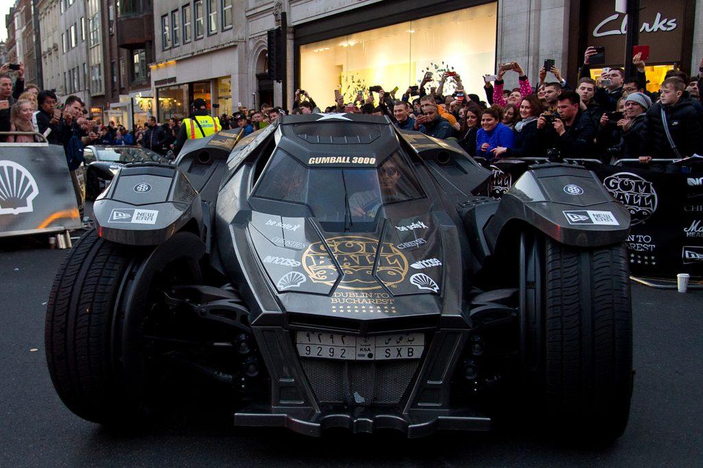 A Lamborghini Gallardo-based Batmobile