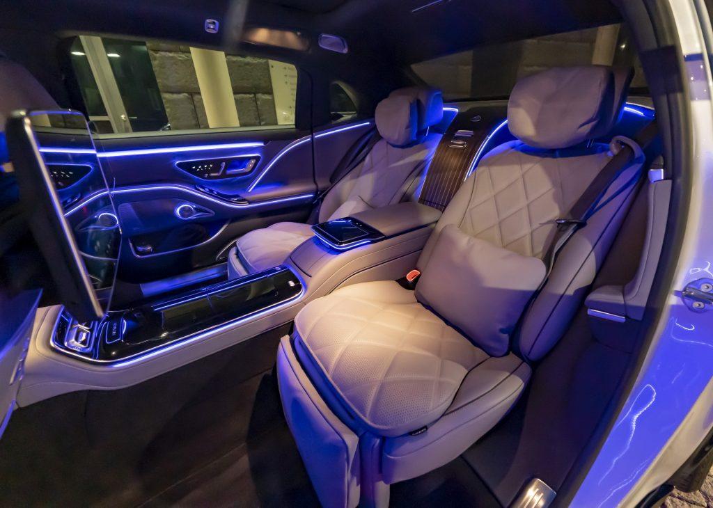 Mercedes Maybach S-Class interior