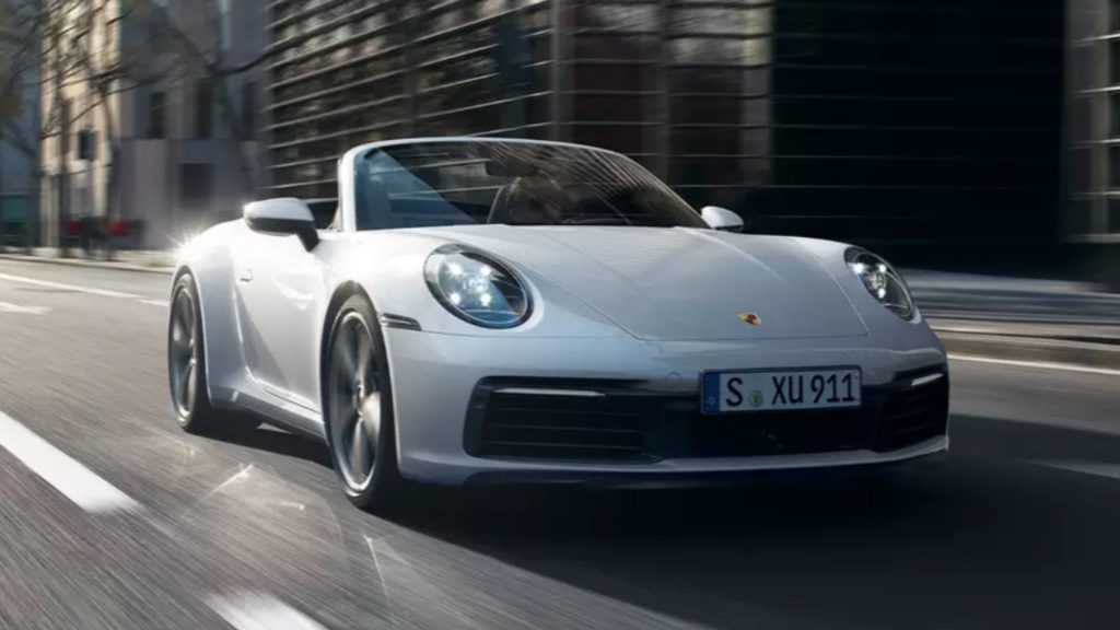 A Porsche 911 Carrera.