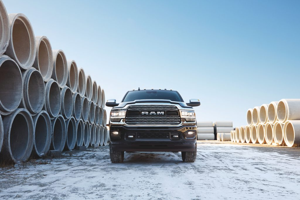 2021 Ram 2500 Heavy Duty, one of the best new diesel pickup trucks according to Edmunds