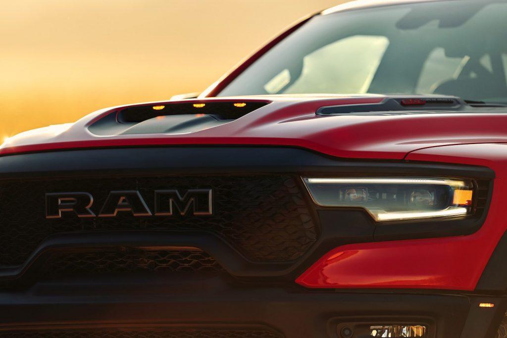 Ram TRX front end close up