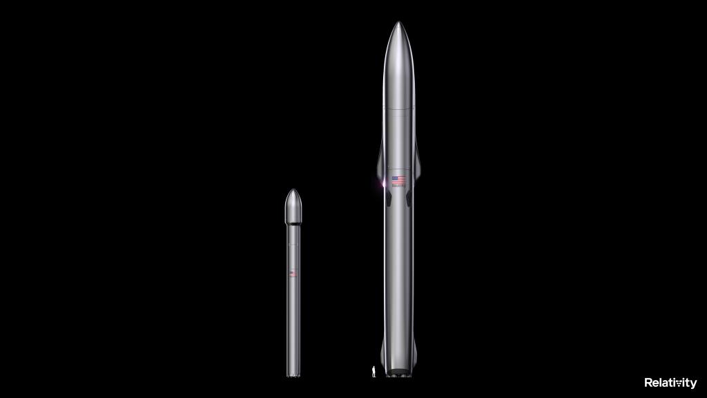 Comparison of Relativity's Terran 1 and Terran R rockets