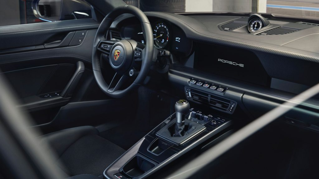 The stick-shift 911 GT3 Touring