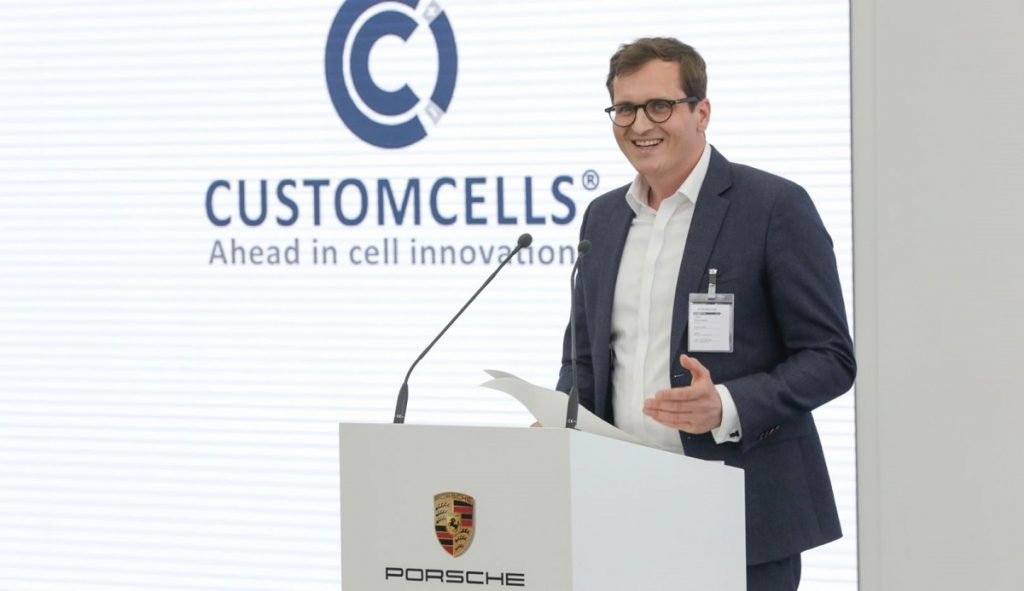 CEO of Customcells Torge Thönnessen talks about Porsche's new EV battery company.