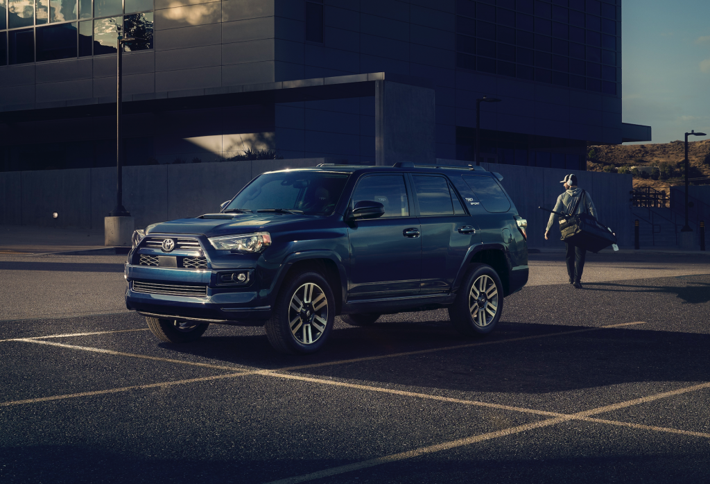 An image of a 2022 Toyota 4Runner parked outdoors.