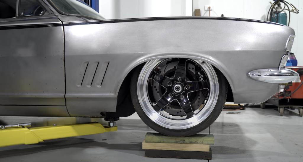 An image of an Australian muscle car with a Ferrari V12 engine.