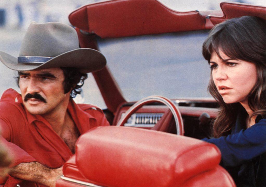 Smokey and the Bandit stars Burt Reynolds and Sally Field