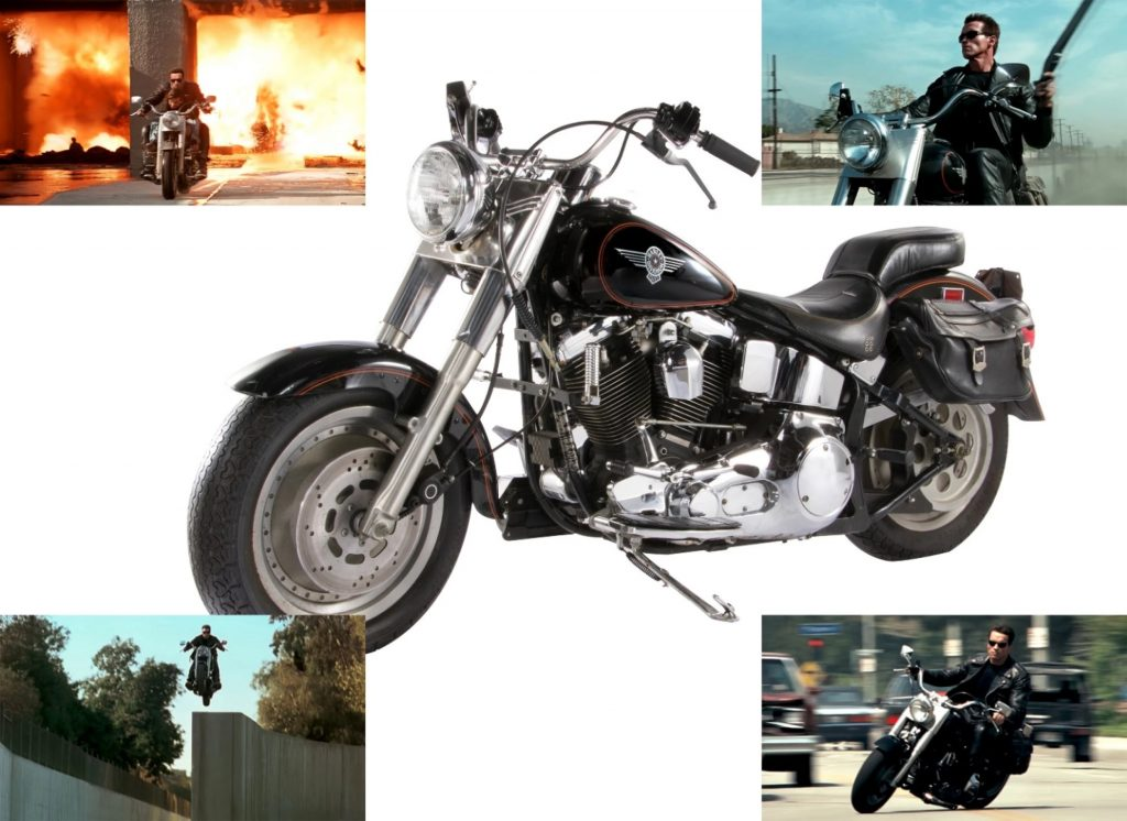 The Harley Fat Boy used in Terminator 2: Judgement Day is one of the most expensive motorcycles in the world