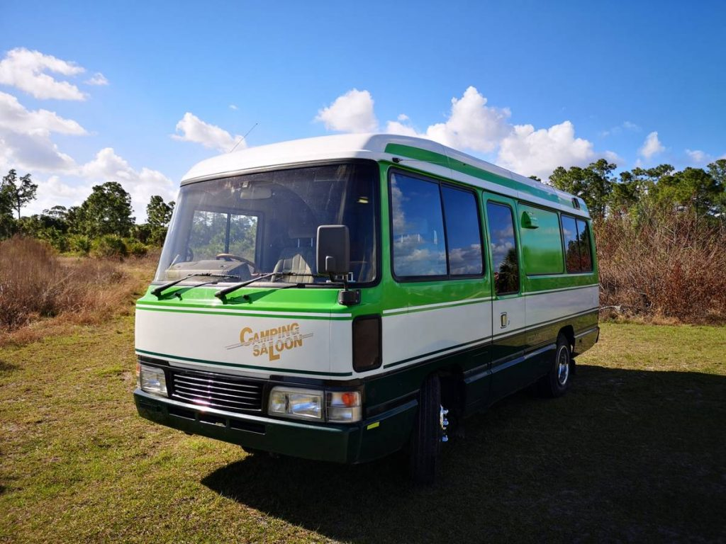 The Toyota Coaster Camping Saloon