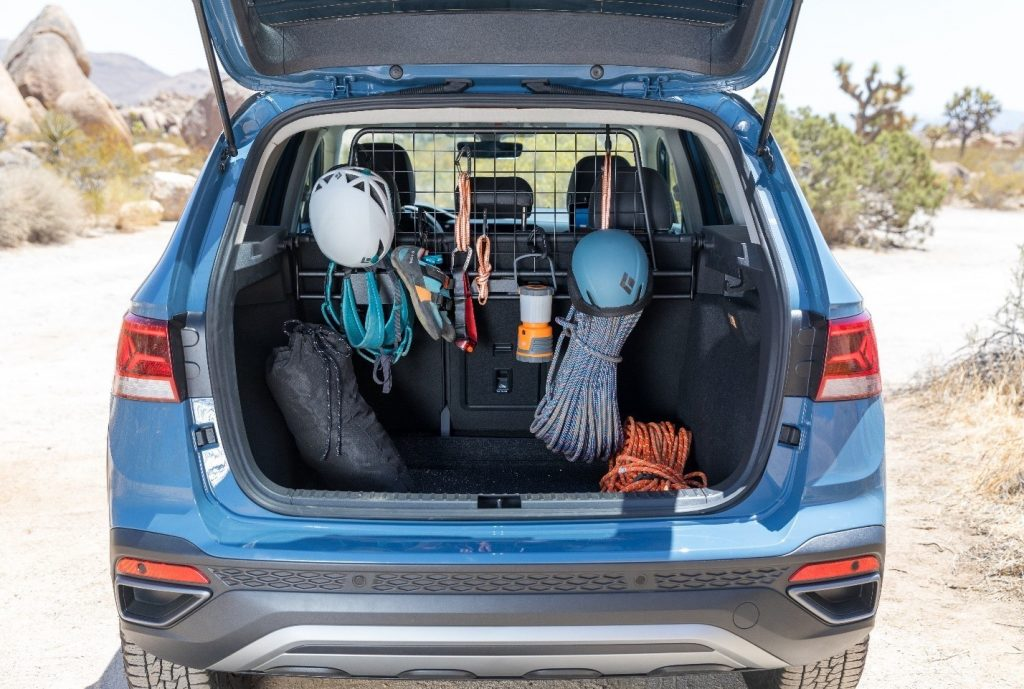 mounted gear carrier in the Taos Basecamp Concept