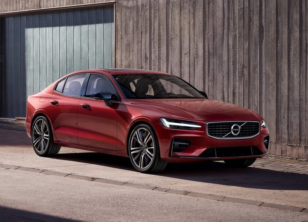An image of a Volvo S60 parked outside.