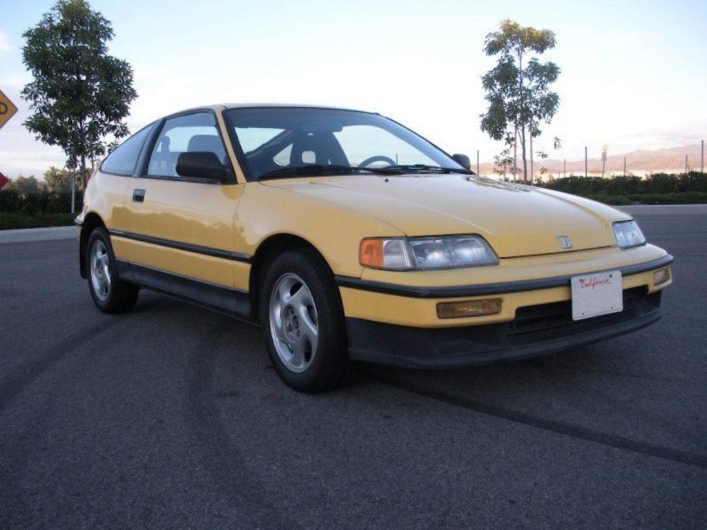 Honda CRX in the cursed color, Y-49