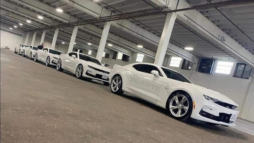 """a Texas police department is now using these white on white """"ghost"""" Chevy Camaros instead of more traditional undercover police cars."""