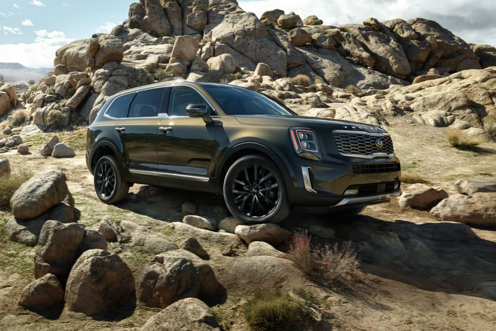 Looking for deals on new cars, not the Kia Telluride