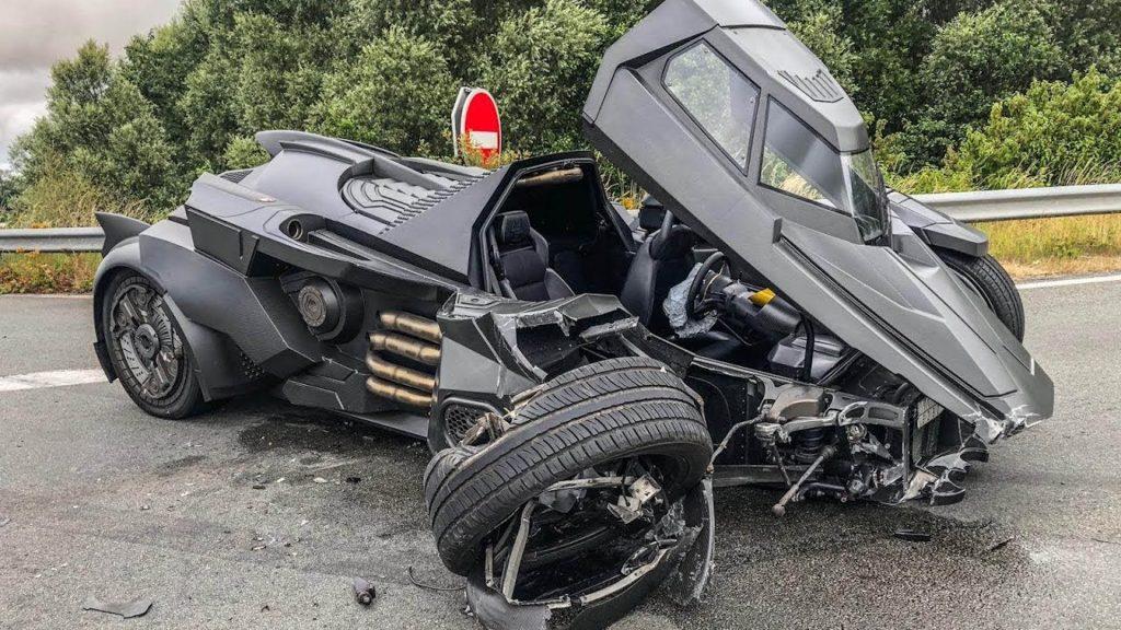The Lamborghini Gallardo Batmobile accident