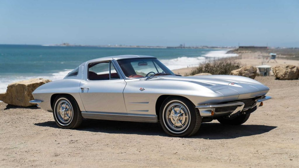 Neil Peart Rush drummer car collection 1963 Corvette
