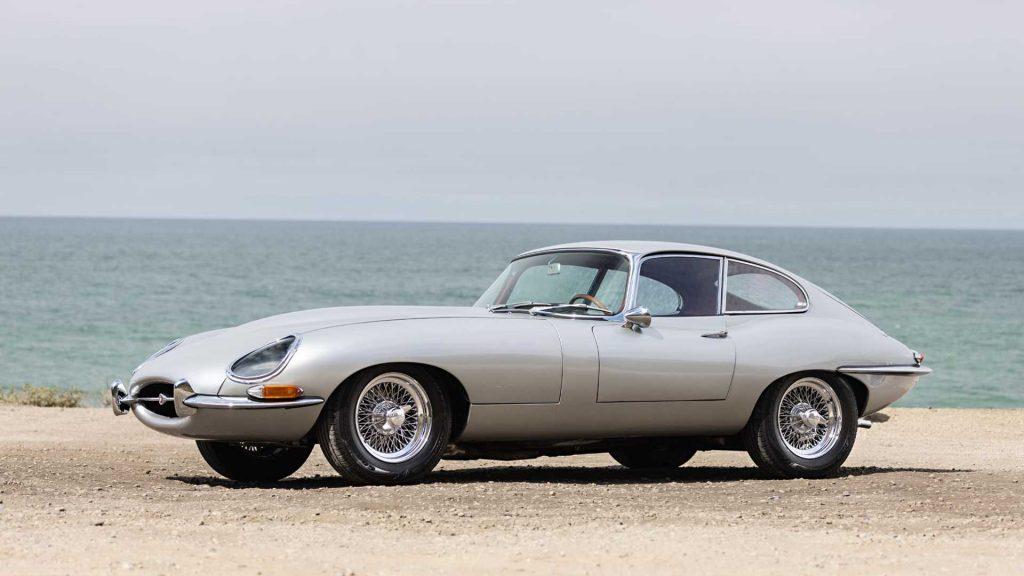 Neil Peart Rush drummer car collection 1963 XKE Jaguar
