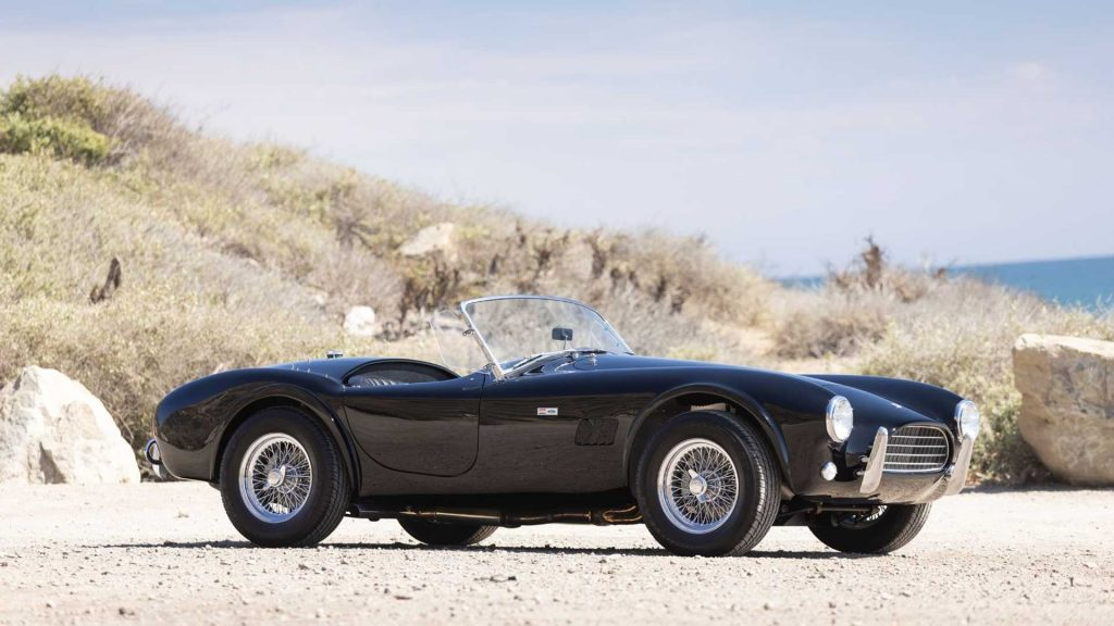 Neil Peart Rush drummer car collection 1964 Shelby Cobra 289