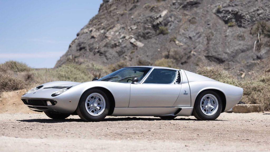Neil Peart Rush drummer car collection 1970 Lamborghini Miura
