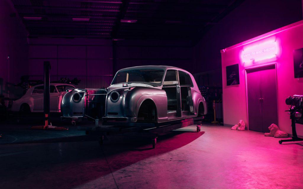 Rolls-Royce Phantom V electric vehicle