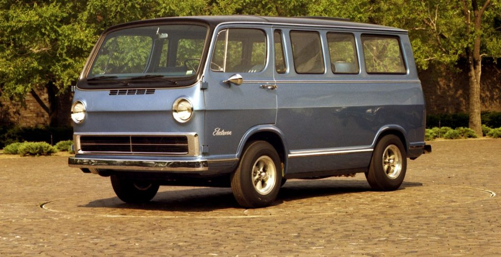 The 1966 Chevy Fuel Cell Electrovan