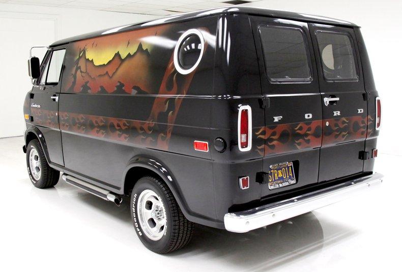1974 Ford van craze van with only 873 miles