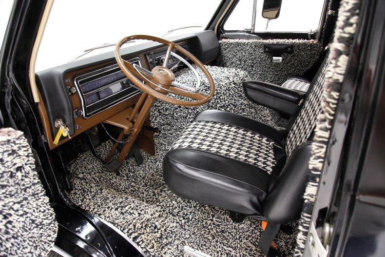 1974 Ford van craze van cockpit