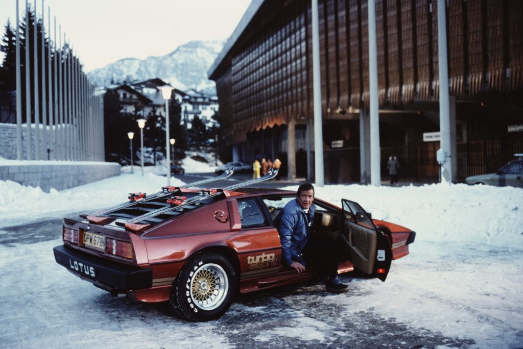 1980 Lotus Esprit Turbo from the James Bond film, 'For Your Eyes Only'