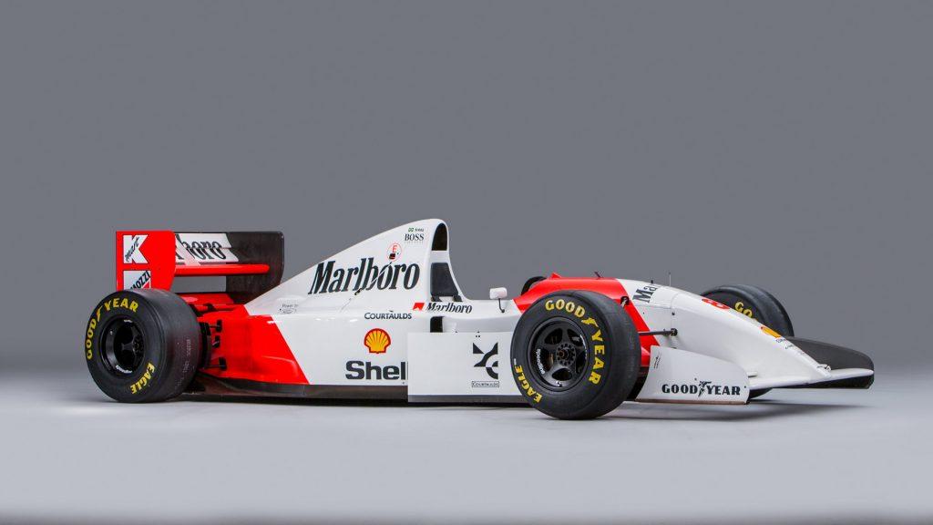 1993 McLaren MP4/8A Formula 1 car