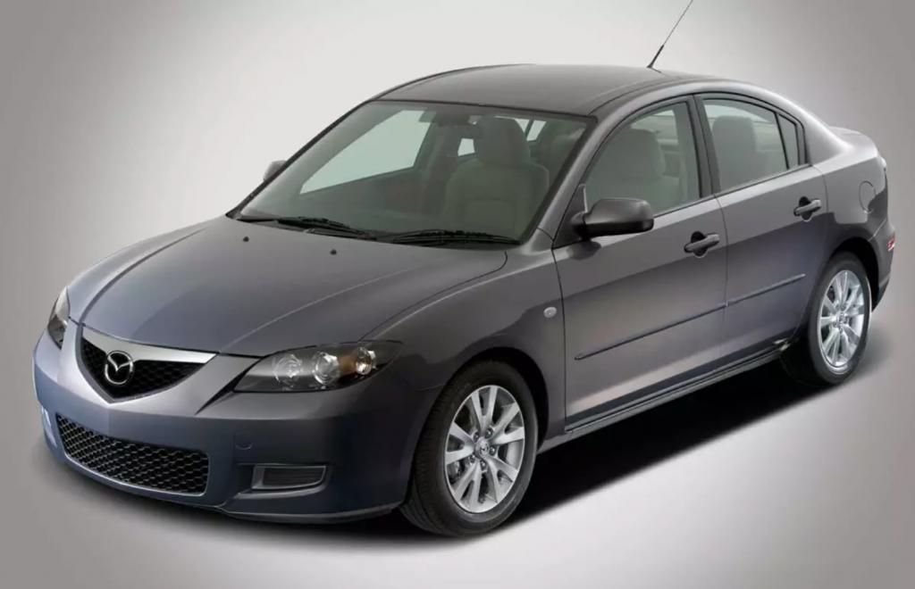 2007 Mazda3s sedan in charcoal gray