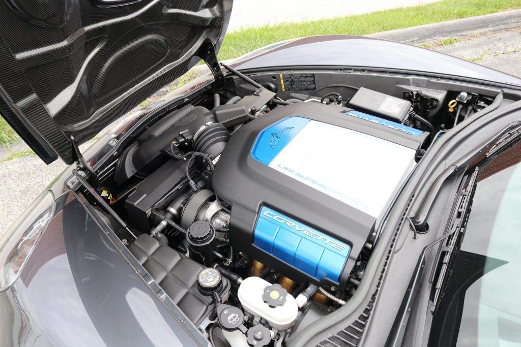 2009 ZR1 Corvette 6.2-liter V8