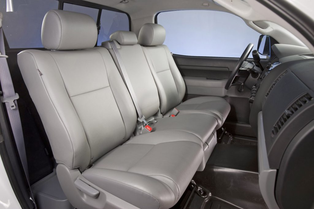 2013 Toyota Tundra interior, featuring the front seats