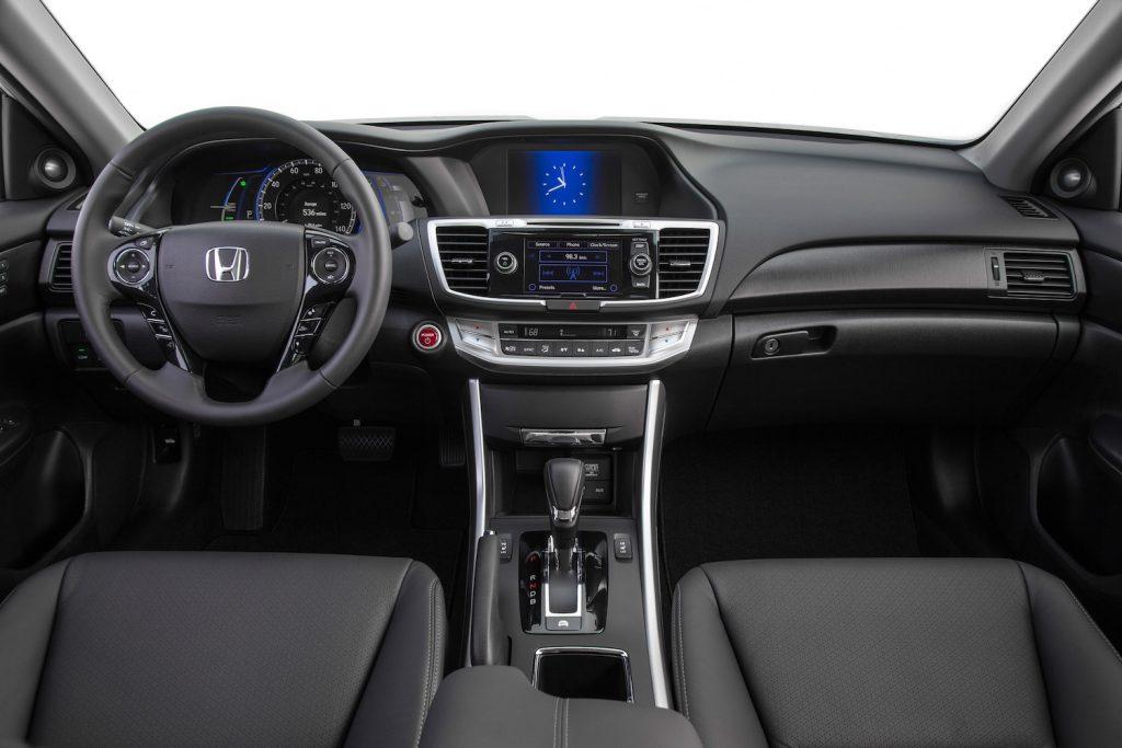 The 2015 Honda Accord Hybrid EX-L interior
