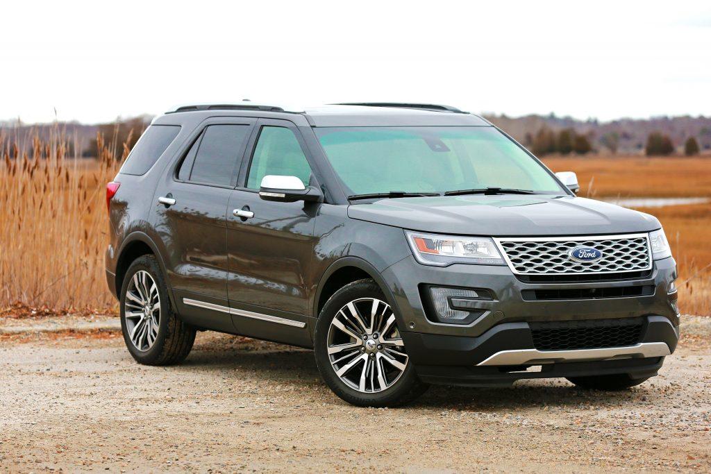 2017 Ford Explorer recall