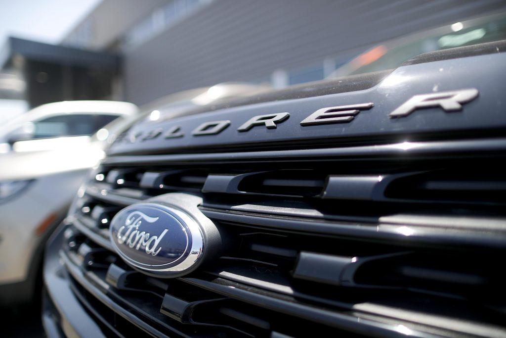 2017 Ford Explorer front end
