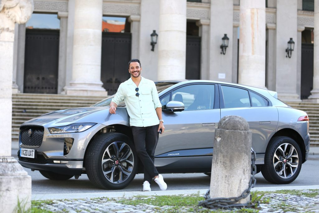 Kostja Ullmann drives the all-electric Jaguar I-PACE, one of the best luxury electric SUVs