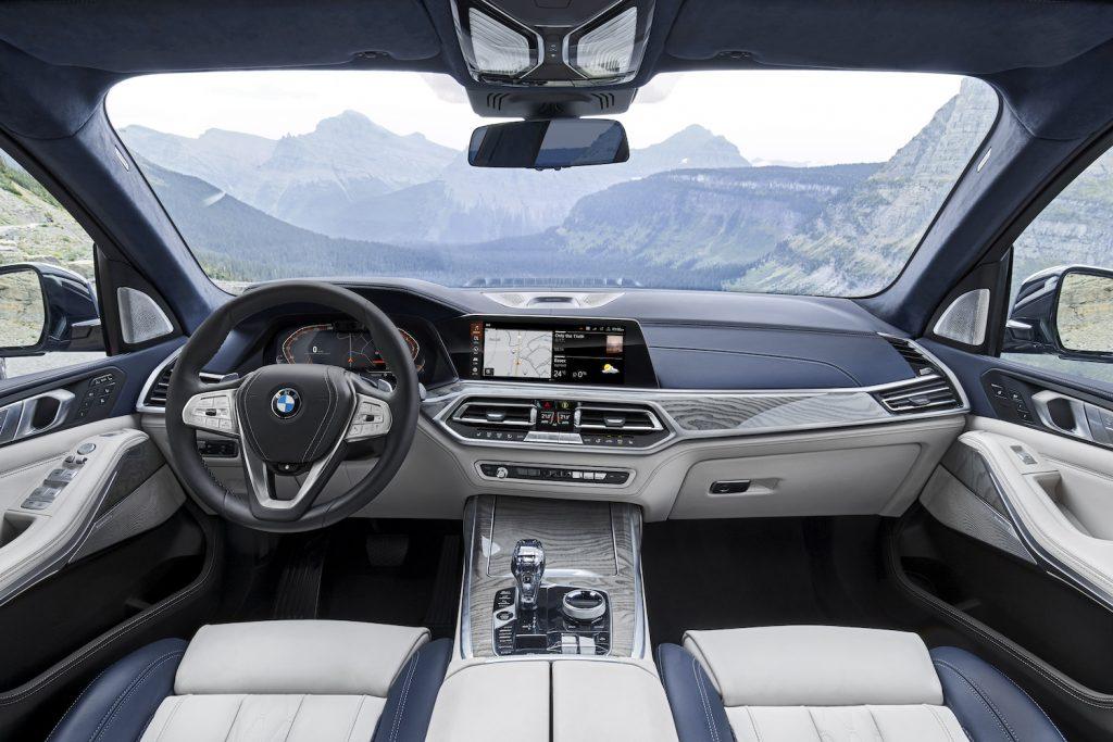 The 2021 BMW X7 Interior