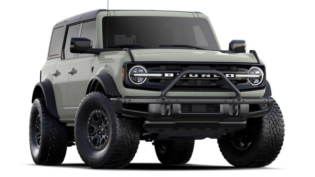 The 2021 Ford Bronco First Edition