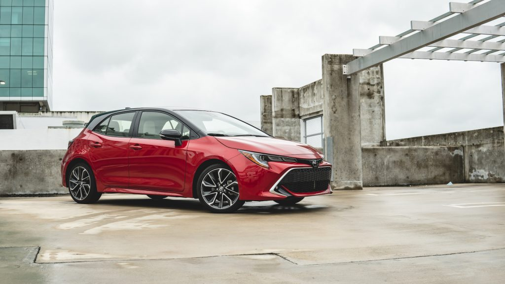 An image of a 2021 Toyota Corolla parked outdoors